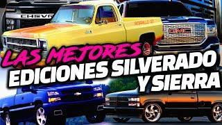 Las Mejores Ediciones Especiales de la Silverado/Sierra