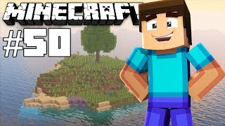 Draining a ocean monument takes a long time - Minecraft timelapse - Survival island III - Episode 50