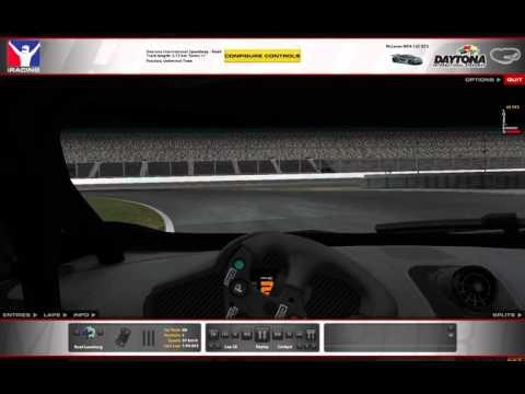 [2016-S1] - Daytona Road (Night): McLaren MP4-12C fuel saving lap