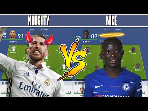 Naughty Players VS Nice Players FIFA 19 EXPERIMENT! - CHRISTMAS GIVEAWAY!