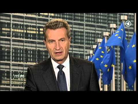 """Interview mit Günther Oettinger - """"Ein guter Tag für den Energiestandort Deutschland"""