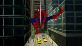 Spider-Man webswing animation W.I.P