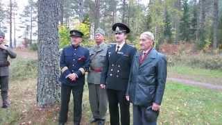 12 Oktober 2014 70 årsjubileet Sedan Upplösningen Av Rysslägret I Byringe