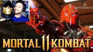 OH MY GOD ITS SEKTOR!! - Mortal Kombat 11: Official Launch Trailer REACTION