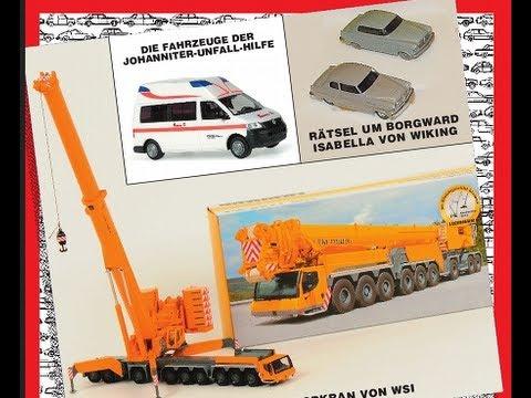 Modell-Auto ZEITSCHRIFT 10/2012 * H0 Modelle * Liebherr * Wiking