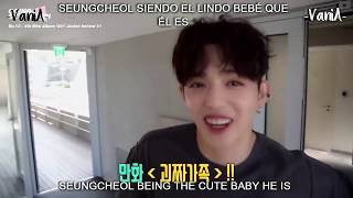 SEVENTEEN: CHOI SEUNGCHEOL/ S.COUPS BEING THE CUTE BABY HE IS (ENG/ESP SUB)