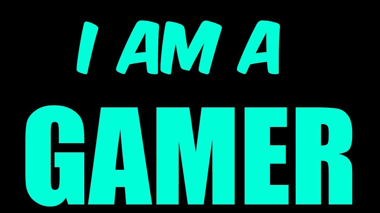 I Am a Gamer 4K HD Desktop Wallpaper for 4K Ultra HD TV