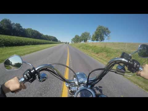 2003 Harley Davidson Wide Glide 100th Anniversary Test Drive Review