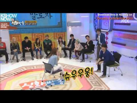 [HD] Shinhwa Broadcast - Funny Couple Game (Yoona Cut)
