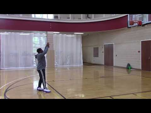 Form Shooting Basketball