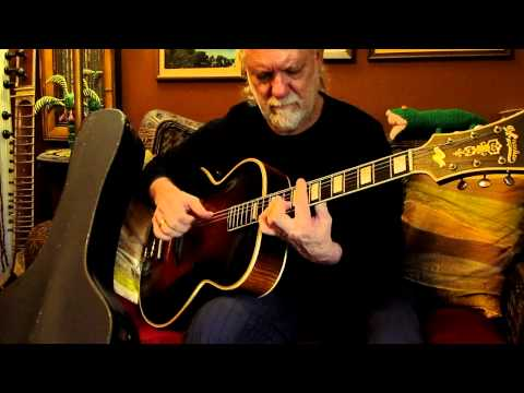 Jammin on a 1938 D'Angelico Style B Jazz Guitar Archtop John Shaffer