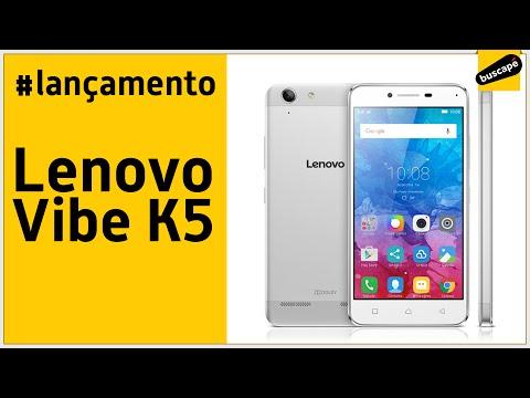 Lançamento do Lenovo Vibe K5