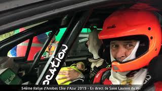 54ème Rallye d'Antibes - Côte d'Azur 2019 - ES7 Saint Laurent du Vae