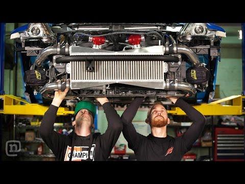Tuerck & Forsberg Epic 370z And 240sx Drift Car Builds: Drift Garage Ep. 1 video