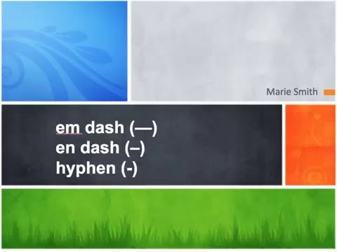 "How to find/use the ""en dash"" on your keyboard"