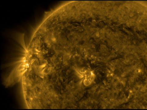 Strong Coronal Hole, Space Weather | S0 News Mar.30.2016