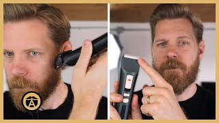How to Shape Your Short Beard Without Losing Length | Eric Bandholz