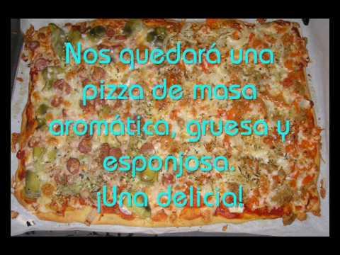 Sicilan Pizza. Como hacer Masa de Pizza estilo Sicilian.