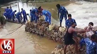 Kerala Floods: Army Jawans Builds Temporary Bridge In Palakkad  - netivaarthalu.com