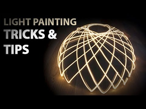 How to light paint? ! TUTO ! Lightpainting tricks