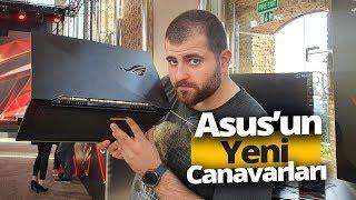 Yeni Asus ROG Zephyrus S, M ve Strix Scar 3 elimizde! (240 Hz ekran içerir)