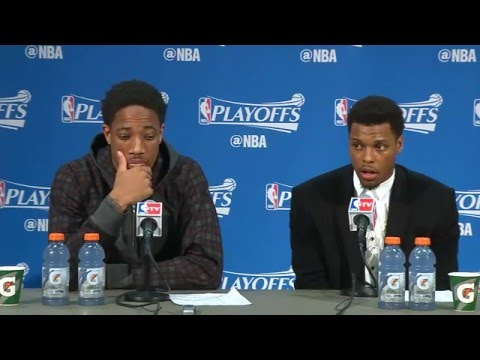 Raptors Post-Game: Kyle Lowry & DeMar DeRozan - April 29, 2016