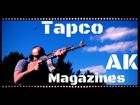 Tapco AK-47 & AK-74 Magazine Test And Review (HD)