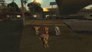 GTA San Andreas - My Little Pony Skin Pack [Mod]