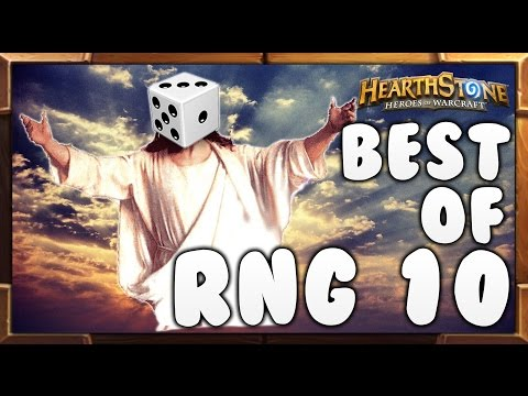 Best of RNG #10 - Hearthstone Funny & Lucky Moments