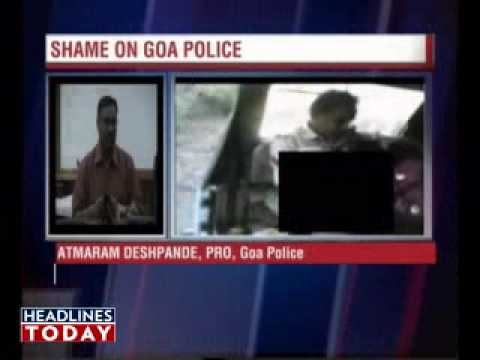 Girl  on Indian Cops Sexually Abusing A Girl Inside Police Van