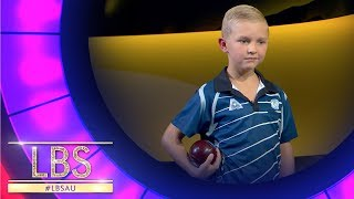 Jett Takes On The Pros In Lawn Bowls | Little Big Shots Aus