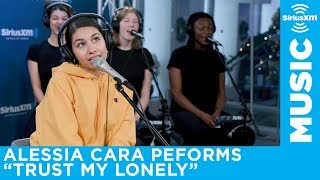 """Alessia Cara performs """"Trust my Lonely"""" live at SiriusXM"""