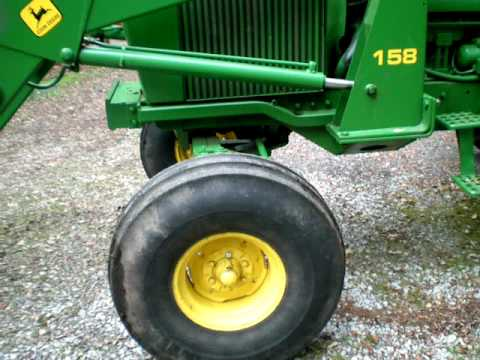 John Deere 4240 CAB Loader Diesel Tractor- SOLD  $21.000