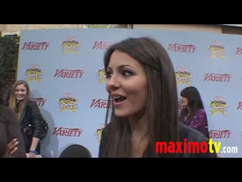 victoria justice 2009. VICTORIA JUSTICE Interview at 2009 POWER OF YOUTH Event