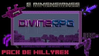 5 dimensiones | Pack de mods de Willyrex | Minecraft 1.3.2 Español HD