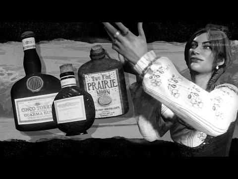 Red Dead Online - All Antique Alcohol Bottles Locations [Madam Nazar Collection]