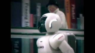 Asimo Humanoid Robot 10th Anniversary (Development and Travel).flv