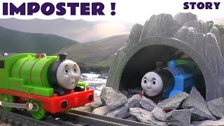 Thomas and Friends Imposter Story | Thomas Y Sus Amigos | Pirate Hook Treasure theft | Toytrains4u