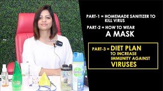 DIET PLAN FOR CORONA VIRUS -Dietitian Shreya
