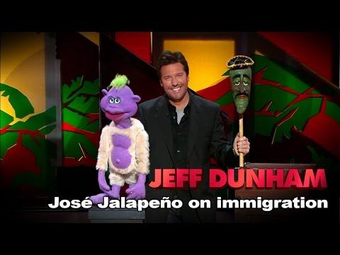 """José Jalapeño on immigration"" | Jeff Dunham: Spark of Insanity"