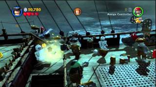 Pirates of the Caribbean: On Stranger Tides - Lego Pirates of the Caribbean,On Stranger Tides Stage 2 Queen Anne's Revenge