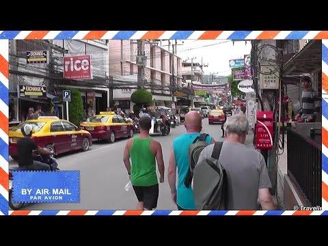 Chaweng Beach Road Day - Koh Samui, Thailand - walking up Chaweng Beach Road - Samui attractions