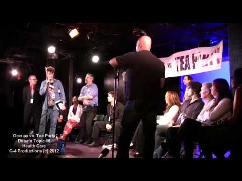 #008 / 013 - OCCUPY vs TEA PARTY - Debate 6 / HEALTH CARE - Kickstarter Funded