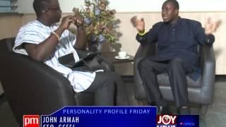 John Armah - Personality Profile Friday (19-9-14)