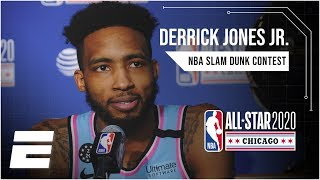 Derrick Jones Jr. knew Aaron Gordon's Tacko Fall dunk wasn't a 50 | 2020 NBA All-Star Weekend