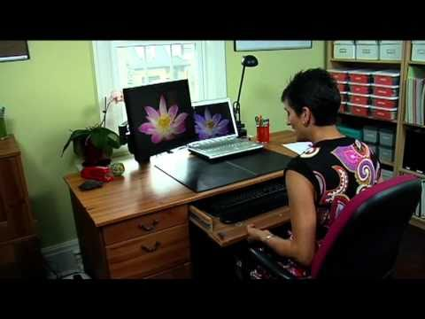 Clare Kumar, Professional Organizer, and AJ Vickery, host of GetConnected TV, provide tips to organize your work space by thinking about 3 key areas - space, time and information. Get ready...