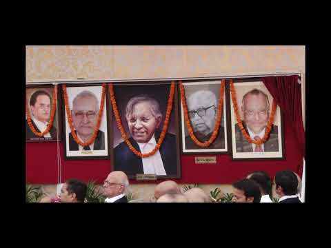 Unveiling of Portraits at Supreme Court Lawns held on 30th August 2018 (Part 2 of 3)