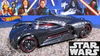 Hot Wheels Star Wars Light Side vs Dark Side 5 Pack Emperor Palpatine,  Kylo Ren