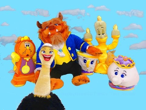 BEAUTY AND THE BEAST 2017 CASTLE FRIENDS COLLECTION Disney Toys | itsplaytime612