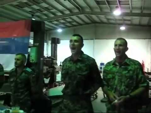 Serbian peacekeepers celebrate Vidovdan in Lebanon